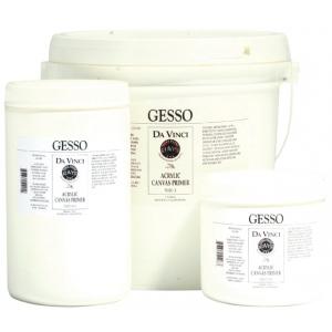 Da Vinci Acrylic Gesso Canvas Primer 1 gal; Format: Pail; Size: 1 gal; Type: Gesso; (model DAV5020-1), price per each