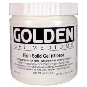 Golden® High Solid Gel Gloss 8 oz.; Finish: Gloss; Size: 236 ml, 8 oz; Type: Gel; (model 0003120-5), price per each