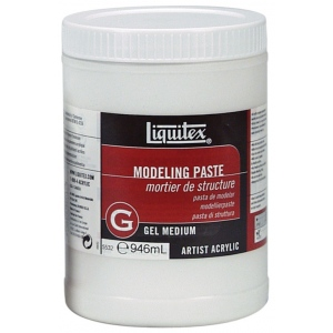 Liquitex® Modeling Paste 32oz; Size: 32 oz; Type: Texture; (model 5532), price per each
