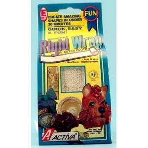 "Rigid Wrap Plaster Cloth: 8"" X 180"", Pack of 6"