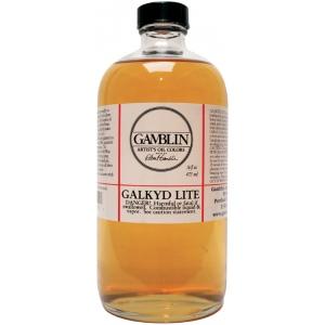 Gamblin Galkyd Lite Resin Medium 16oz; Size: 16 oz; Type: Oil Alkyd; (model G02016), price per each