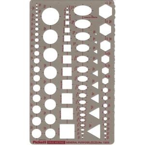 Pickett® Metric General Purpose Template: 2 mm - 30 mm, (model 1303I), price per each