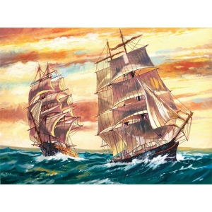 "Reeves™ Large Acrylic Painting By Numbers Set Sailing Ships: 12"" x 15 1/2"", (model PL53), price per each"