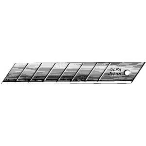 Olfa® HB Snap-Off 25mm Steel Blades 20-Pack: Refill, Knife, (model OR-HB20), price per pack