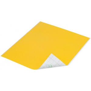"Duck Tape® Yellow Tape (Sheet): Yellow, Sheet, 8 1/4"" x 10"", Color, (model DT280088), price per sheet"