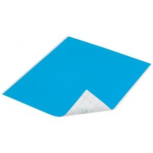"Duck Tape® Aqua Tape (Sheet); Color: Blue; Format: Sheet; Size: 8 1/4"" x 10""; Type: Color; (model DT280086), price per sheet"