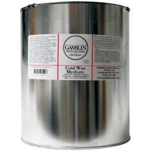 Gamblin Cold Wax Medium 128oz; Size: 128 oz; Type: Wax; (model G03099), price per each