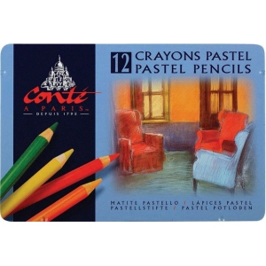 Conte™ Pastel Pencil 12-Color Set; Color: Multi; Format: Pencil; (model C2181), price per set