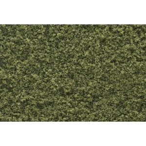 Woodland Scenics® Burnt Grass Fine Turf; Color: Green; Coverage: 50 cu in; Type: Turf; (model WST1344), price per each