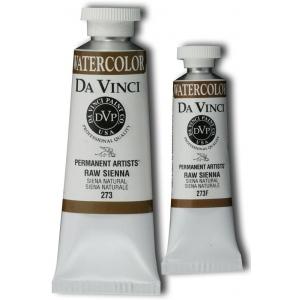 Da Vinci Artists' Watercolor Paint 37ml Raw Sienna; Color: Brown; Format: Tube; Size: 37 ml; Type: Watercolor; (model DAV273), price per tube