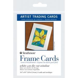 Strathmore Artist Trading Card Frame Card: 6 Cards & Envelopes