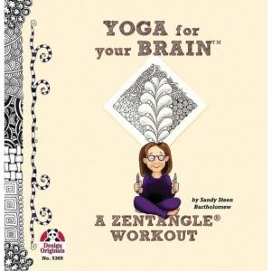 Zentangle® Yoga for Your Brain™ Book: Book, (model DO5369), price per each