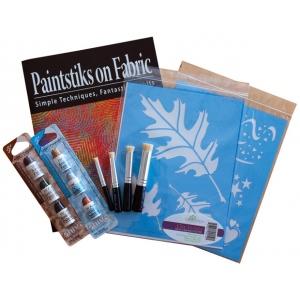 "Cedar Canyon Textiles Stencil Sampler; Color: Blue; Size: 7 1/2"" x 9 1/2""; Type: Patterned Stencil; (model CCT401K), price per set"