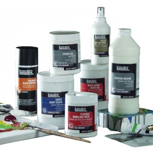 Liquitex Acrylic Mediums Display Assortment B