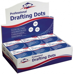 "Alvin® Drafting Dots Display; Type: Drafting; Width: 7/8""; (model DM123D), price per each"