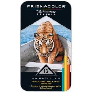 Prismacolor® Premier Premier Watercolor Pencil 12-Color Set: Multi, Watercolor, (model SN4064), price per set