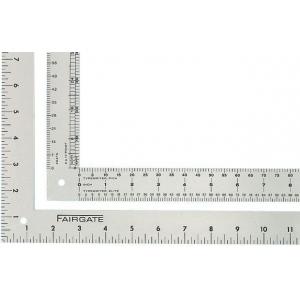"""Fairgate® Aluminum Designer L-Square; Color: Metallic; Material: Aluminum; Size: 14"""", 24""""; Type: L-Square; (model L106), price per each"""