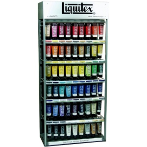 Liquitex® Basics Acrylic Color Assortment; Color: Multi; Format: Tube; Size: 4 oz; Type: Acrylic; (model 1010461), price per each
