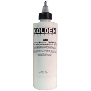 Golden® GAC 400 Acrylic Series Medium 8 oz.; Size: 236 ml, 8 oz; Type: Acrylic Painting; (model 0003940-5), price per each