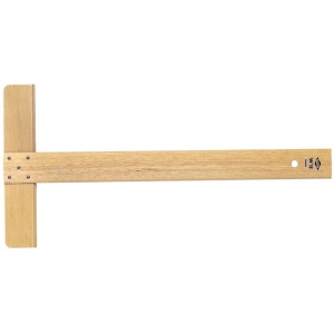 "Alvin® 18"" Wood Academic T-Square; Material: Wood; Size: 18""; Type: T-Square; (model W18), price per each"