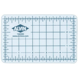 "Alvin® TM Series Translucent Professional Self-Healing Cutting Mat 24 x 36; Color: Clear; Grid: Yes; Material: Vinyl; Size: 24"" x 36""; Thickness: 3mm; Type: Cutting Mat; (model TM2236), price per each"