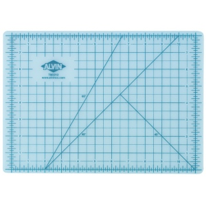 "Alvin® TM Series Translucent Professional Self-Healing Cutting Mat 36 x 48; Color: Clear; Grid: Yes; Material: Vinyl; Size: 36"" x 48""; Thickness: 3mm; Type: Cutting Mat; (model TM2248), price per each"