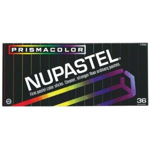 Prismacolor® NuPastel® 36-Color Set: Multi, Stick, Drawing, (model 27050), price per set