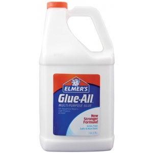 Elmer's® Glue-All® Multi-Purpose Liquid Glue 1 gal; Format: Bottle; Size: 1 gal; Type: All Purpose; (model E1326), price per each