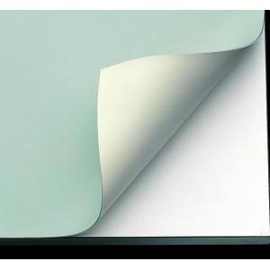 "Alvin® VYCO Green/Cream Board Cover 24"" x 36"" Sheet: Green, White/Ivory, Sheet, Vinyl, 24"" x 36"", (model VBC44-4), price per each"
