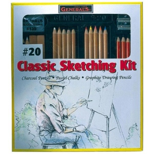 General's® Classic Sketching & Drawing Kit; Color: Multi; Type: Drawing; (model G20), price per set
