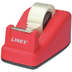 "Linex® Soft Touch Tape Dispenser Pink; Dispenser: Yes; Type: General; Width: 3/4""; (model TD100-PK), price per each"
