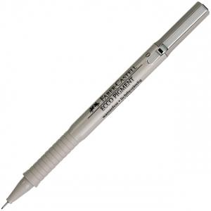 Faber-Castell Ecco Pigment Fibre-tip Pen, Black: 0.2 mm