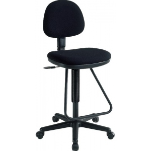 Alvin Viceroy Artist/Drafting Chair: Black, 30 lbs.