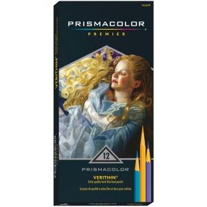 Prismacolor® Verithin® Premier Pencil 12-Color Set; Color: Multi; (model E796), price per set