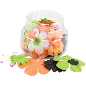 "Blue Hills Studio™ Irene's Garden™ Jar O'Blooms Halloween: Multi, Paper, 2 1/2"", Dimensional, (model BHS812), price per each"