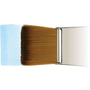 "Winsor & Newton™ Cotman™ Series 999 Wash Short Handle Brush 1"": Short Handle, Synthetic, Wash, Watercolor, (model WN5309125), price per each"