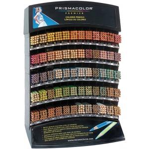Prismacolor® Premier Colored Pencil Display Assortment; Lead Color: Multi; (model PC60D), price per each