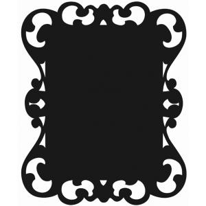 """Mishu Victorian Chalkboard Wall Sticker; Size: 19"""" x 24""""; Type: Chalkboard; (model M180CB), price per each"""