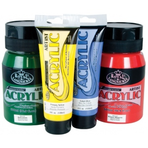 Royal & Langnickel® Essentials™ Acrylic Paint 4oz Hooker's Green: Tube, Acrylic, (model RAA-104), price per tube