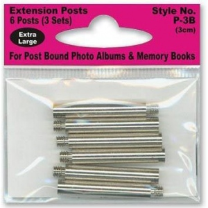 Pioneer® Extension Post Set; Size: 3 cm; Type: Extension Post; (model P3B), price per pack