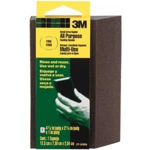 3M™ Angled Fine Grit Sanding Sponge; Grit: Fine; Type: Sanding Sponge; (model CP040NA), price per each