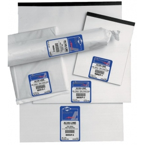 "Alvin® Alva-Line 100% Rag Vellum Tracing Paper 100-Sheet Pack 17 x 22: Sheet, 100 Sheets, 17"" x 22"", Tracing, 16 lb, (model 6855-S-7), price per 100 Sheets"