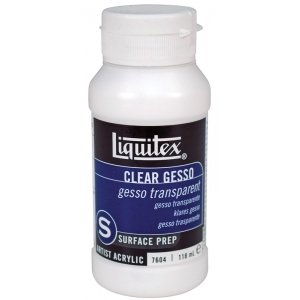 Liquitex® Clear Gesso 4oz; Size: 4 oz; Type: Acrylic Painting, Gesso; (model 7604), price per each