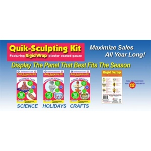 Rigid Wrap Quik Sculpt Value Pack, Pack of 4
