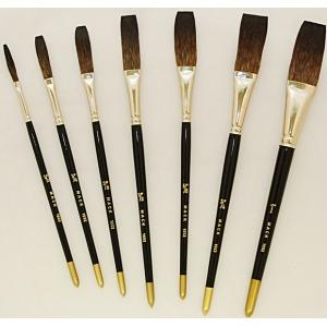 """Mack Soft Stroke Lettering Brush Series 1992: #3/8, Hair Length 1-1/2"""""""