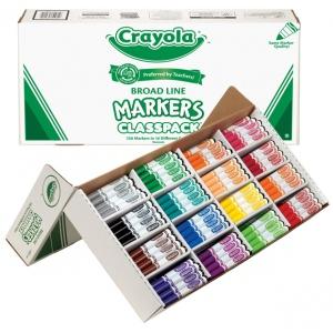Crayola® Classic Marker 256 Piece Set: Multi, (model BAS210), price per each