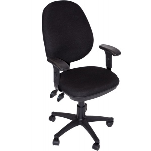 Martin Grandeur Manager's Desk High Chair Black: Model # 91-02609115