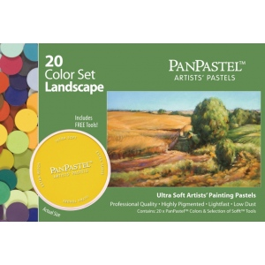 PanPastel® Ultra Soft Painting Pastels Landscape Set; Color: Multi; Format: Pan; Type: Ultra Soft; (model PP30202), price per set