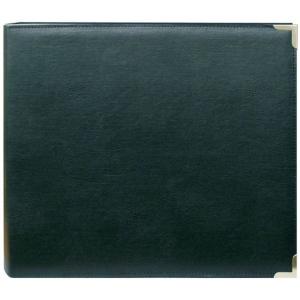 "Pioneer® 12 x 12 3-Ring Scrapbook Binder Green Oxford: Green, Leatherette, 12"" x 12"", (model TM12GOX), price per each"