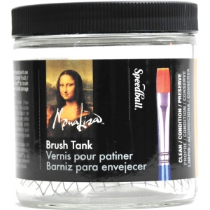 Mona Lisa™ 16 oz. Capacity Cleaning Tank: 16 oz, Soap & Cleaners, (model 160-017), price per each